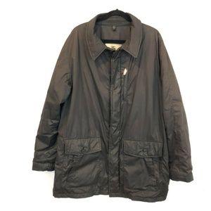 Burberry Men XL Brown Puffer Coat Winter Jacket